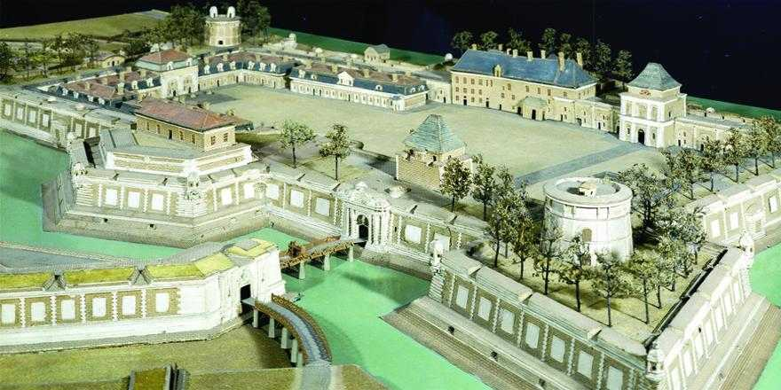 Maquette du Château Trompette