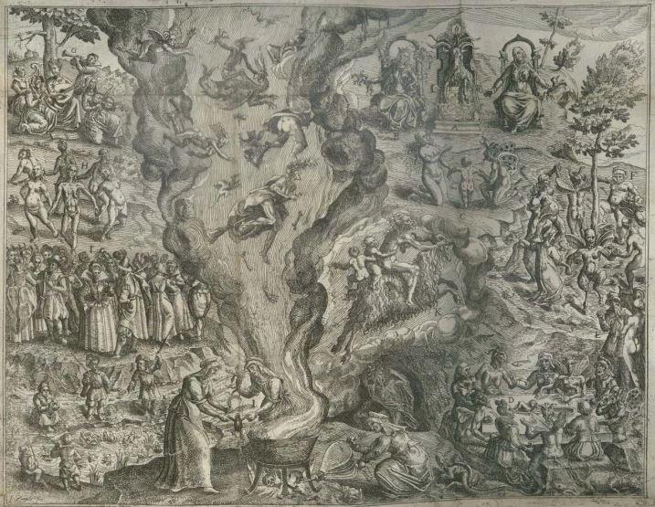 Description et figure du Sabbat des Sorciers