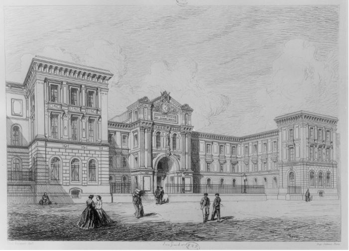 Institut des sourds et muets de bordeaux - 1866
