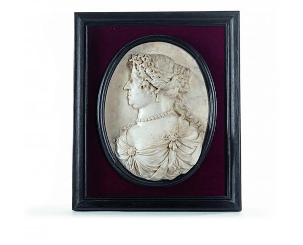 Médaillon de Marie-Thérèse d'Autriche