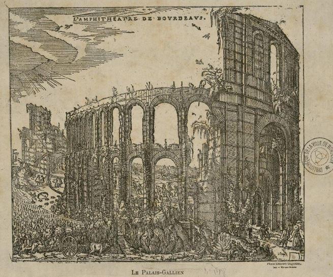 Vue du Palais Gallien - 1500