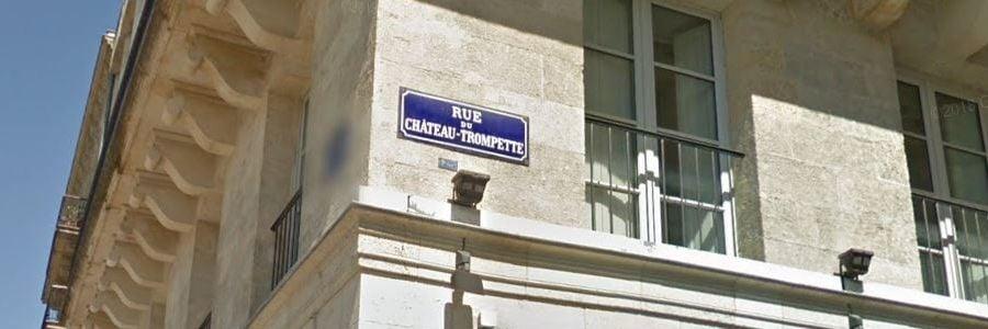 Rue du Château trompette
