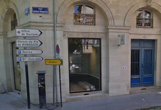 Angle de la rue du Château Trompette à Bordeaux
