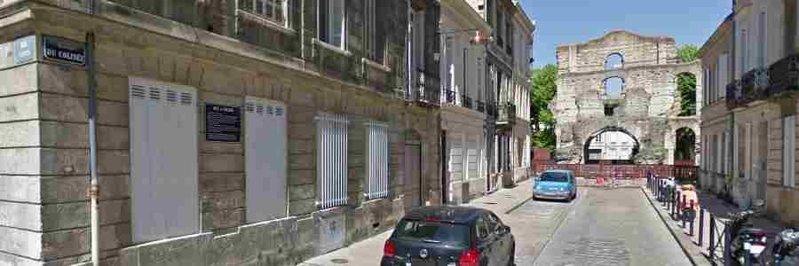 Rue du colisée Bordeaux